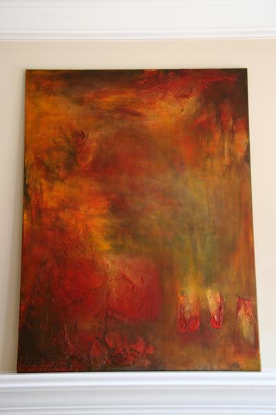 Paintingintothefire