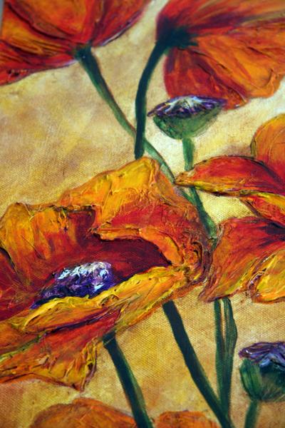 Paintingpoppiesupclose